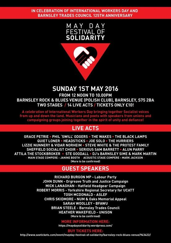 May Day Festival of Solidarity